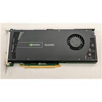 Dell NVIDIA Quadro 4000 6WTYT Graphics Card DVI & Display Port 2GB Refurbished