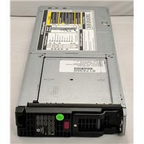"""HP C7000 Storage Array Blade 12x 2.5"""" HDD Capacity 671668-001 QW918a D2200sb"""
