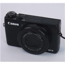 Canon PowerShot G7 X Digital Point and Shoot Camera 20.2MP - TESED WORKING