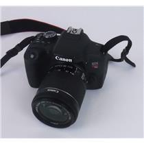 Canon EOS T6i Digital SLR Camera with EF-S 18-55mm IS STM Lens