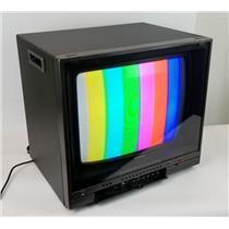 "Panasonic CT-1930V 19"" Color CRT Monitor Vintage Gaming Display TESTED WORKING #"