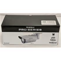 Uniden Professional 2.0-Megapixel IP Tamperproof Varifocal Bullet Camera 2MB-VF