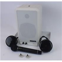 Audio Enhancement AES 0.5 Speaker IRH-GPc Wireless Microphone 2x Dome Sensor