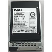 """Dell PM1725a 1.6TB PCIe Gen 3 NVMe SSD 2.5"""" JD6CH MZWLL1T6HEHP MZ-WLL1T6A"""