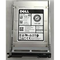 """Dell Enterprise 120GB SATA SSD 2.5"""" w/ Hard Drive Tray PGNY6 THNSF8120CCSE"""