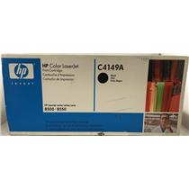 HP Laserjet 8500 8550 Black Toner Cartridge C4149A 17K Pages