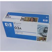 NEW NIB Genuine HP C3903A 03A Black Toner Cartridge