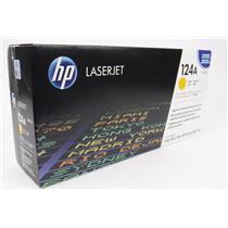 NEW NIB Genuine OEM HP Q6002A 124A Yellow Toner Cartridge
