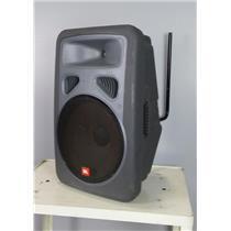 "JBL EON 15 PA Speaker Gray Passive 15"" Sub 250 Watts speakON Input Jacks TESTED"