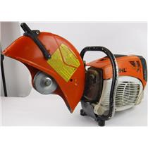 Stihl TS700 Gas Concrete Cut off Saw Without Blade FOR PARTS / NOT WORKING.