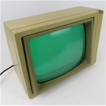 "Vintage Apple II Model A2M2010 12"" Green Phosphor Monitor - POWER ON TEST ONLY"