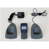 Ascom i75 KATY-ACAAA/1B VoWiFi Handset with Charger & PDM Cradle POWERS ON