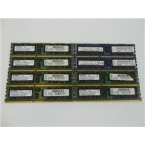 Lot 8 Assorted Brands 8gb 2Rx4 PC3-10600R DDR3-1333MHz ECC Server Memory