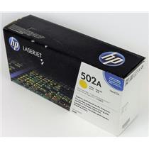 NEW Genuine OEM HP Laserjet 502A Q6472A Yellow Print Cartridge