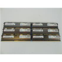LOT 6 Hynix HMT31GR7BFR4C-G7 8GB 2Rx4 PC3-8500R DDR3-1066MHz Server Memory
