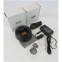 NEW Motorola WPLN4137BR CP200 Desktop Radio Charger W/ EPNN9288A Power Supply