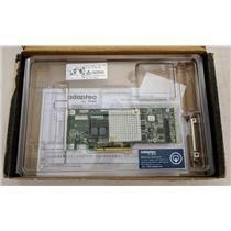 Adaptec ASR-8805 12Gbps RAID SATA SAS PCIe Controller High + Low Profile