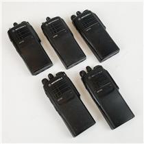 Lot of 5 Motorola HT750 AAH25SDC9AA2AN UHF Radios UNTESTED