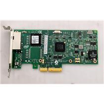 Dell Intel Ethernet Server Adapter I350-T2 Dual Port Network Card XP0NY Low Pro