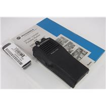 NEW Motorola AAH50KDC9AA1AN Radius CP200 4 Channel Portable VHF Radio