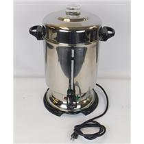 Hamilton Beach D50065 Commercial 60 Cup Stainless Steel Coffee Urn - FOR PARTS