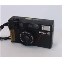 Nikon L35AF 35mm Point and Shoot Film Camera - FOR PARTS