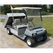 Club Car 2002 CarryAll 2 Gasoline Golf Cart Dump Bed 1819 hrs