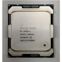 Intel Xeon E5-1603 v4 SR2PG 2.8GHz 4-Core LGA2011-3 CPU 10MB Cache