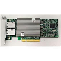 SuperMicro AOC-STG-I2T 10GB Ethernet Card PCIe Fiber Controller Card Low Profile