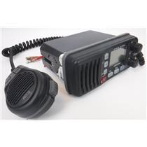 Icom IC-M304 Marine VHF Radio with HM-164B Hand PII Microphone TESTED