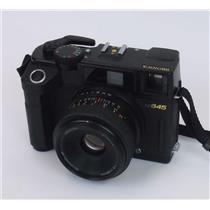 Bronica RF645 Film Rangefinder Camera Bronica 65mm Lens - TESTED WORKING