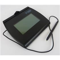Topaz Systems T-LBK755-BHSB-R SignatureGem 4x3 USB Electronic Signature Pad