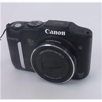 Canon PowerShot SX160 IS Black 16.0 MP Digital Camera - TESTED & WORKING