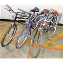 Lot of 3 Bikes Bicycles Roadmaster Trek Motobecane LOCAL PICKUP - FOR PARTS
