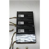 Dell Lithium Ion Battery Backup Unit Rechargeable NU209 Lot of 4