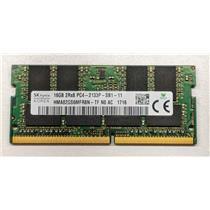 Hynix HMA82GS6MFR8N-TF 16GB PC4-17000 DDR4-2133 non-ECC Unbuffered Laptop RAM