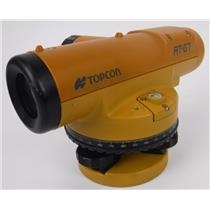 Topcon AT-G6 Automatic Auto Level w/ 22x Magnification and Carry Case TESTED