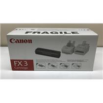 Canon FX3 Black Toner Cartridge 1557A002 2700 Page Yield
