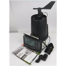Davis Vantage Pro 2 Wireless Weather Station 6152C with Weatherlink POWERS ON