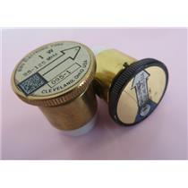 "Lot Of 2 7/8"" Plug-In Element Slugs Coaxial Dynamics & Bird Electronics"