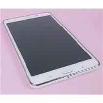 "Samsung Galaxy Tab 4 SM-T230 Wi-Fi 7"" White 1280x800 8GB Android Tablet"