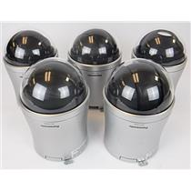 Lot of 5 Panasonic WV-CS584 Day Night Dome SD6 Camera CCTY Security - UNTESTED