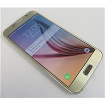 Samsung Galaxy S6 SM-G920T 32GB Gold Android Phone W/ Good T-Mobile IMEI #