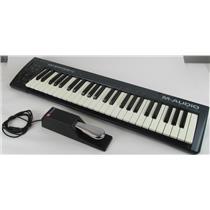 M-Audio - Keystation 49 - USB MIDI Keyboard Controller with M-Gear Sustain Pedal