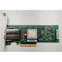 HP/Qlogic QLE2562-HP 489191-001 8GB PCIe Dual Port Fibre Channel High Profile