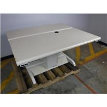 Mayline Varidesk 383553 Two Electric Height/Angle Adjustable Desktops - WORKS