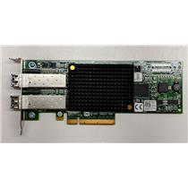 Dell Emulex LPE12002 8GB Dual Port Fibre Channel HBA PCI-e R7WP7 w/ SFPs