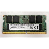Micron 8GB PC417000 DDR4-2133 nonECC Unbuffered SODIMM 1.2V MTA16ATF1G64HZ-2G1B1