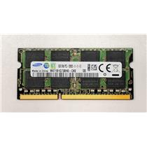 Samsung 8GB PC3-12800 DDR3-1600 non-ECC Unbuffered SODIMM 1.5V M471B1G73BH0-CK0