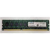 Crucial 4GB PC3-8500 DDR3-1066 ECC Unbuffered 1.5V CT51272BA1067.M18FMD